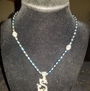 Jewelry - 925 & 18 Kt One of A Kind Necklace